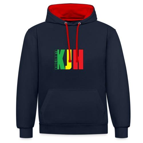 KJH (Logo) - Contrast Colour Hoodie