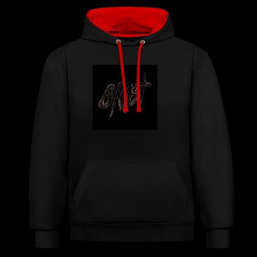 -Logo Qrust- - Sweat-shirt contraste
