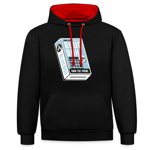 Own the Phone - Contrast Colour Hoodie