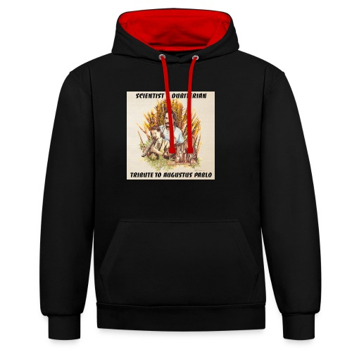 Scientist Dubiterian - Contrast Colour Hoodie