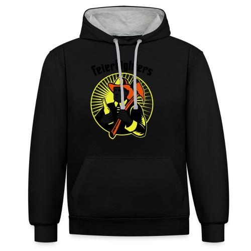 feierfighters - Kontrast-Hoodie