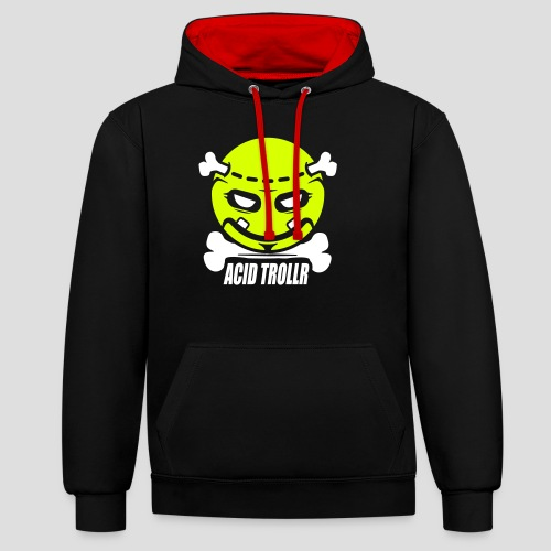 Acid TROLLR - Sweat-shirt contraste