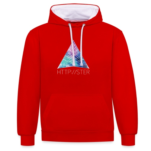 HTTPSTER - Contrast hoodie