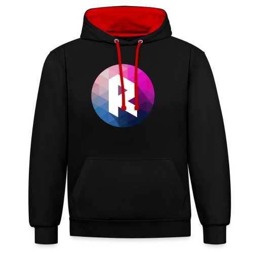 radiant logo - Contrast Colour Hoodie
