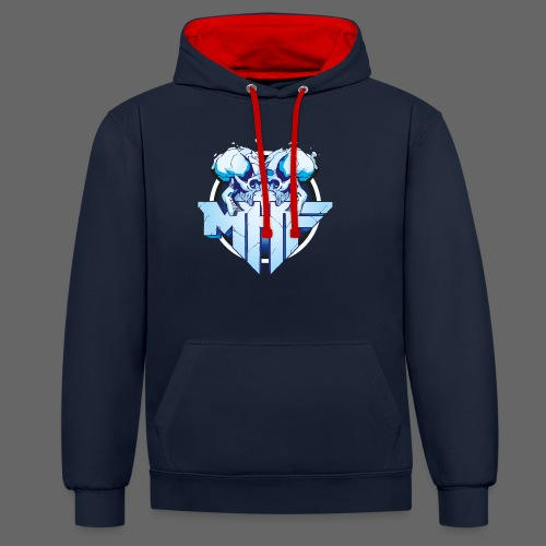 MHF New Logo - Contrast Colour Hoodie