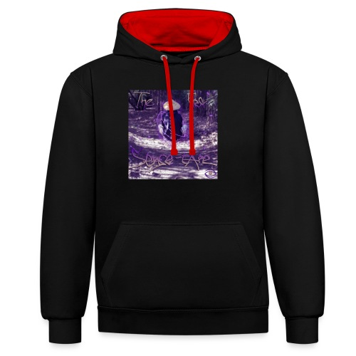 the first sense tape jpg - Contrast Colour Hoodie