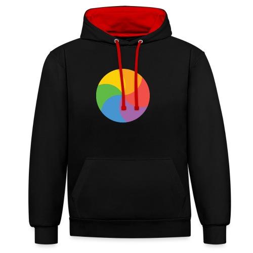 BeachBal - Contrast hoodie