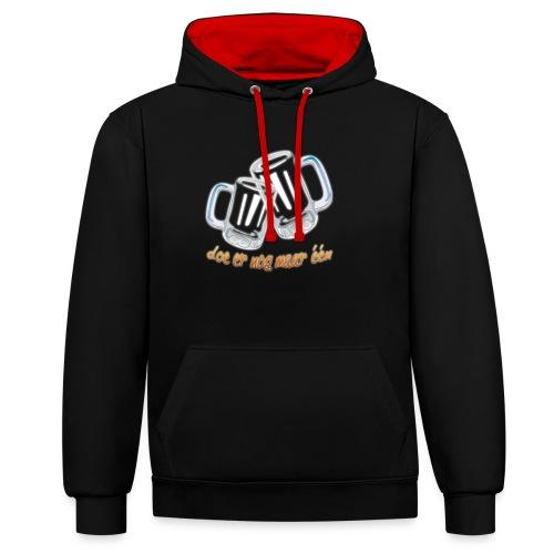 Doe er nog maar een Shirt png - Contrast hoodie