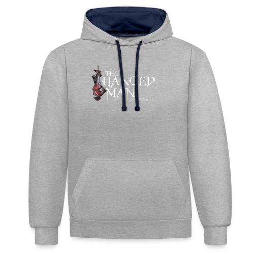 The Hanged Man Design - Contrast Colour Hoodie