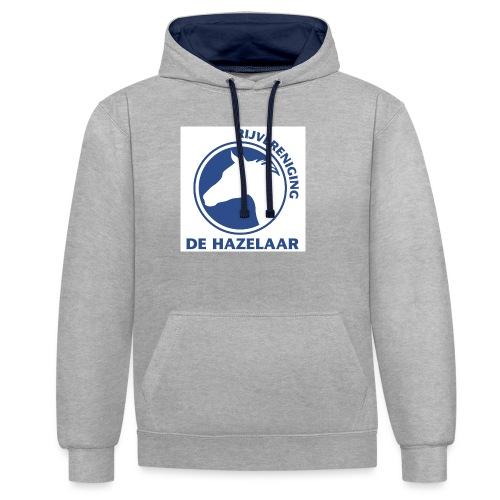 LgHazelaarPantoneReflexBl - Contrast hoodie