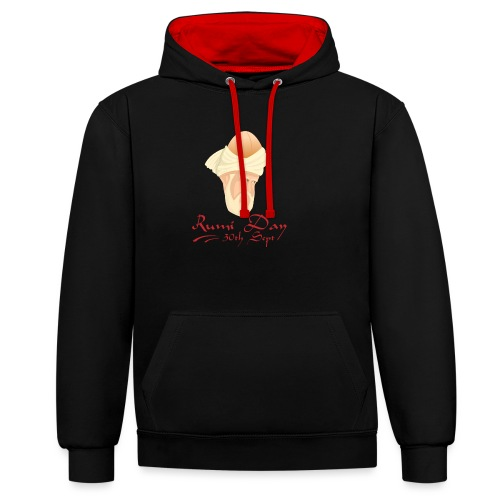 Rumi Day, 30th Sept - Contrast Colour Hoodie