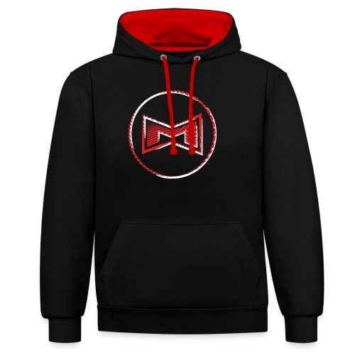 M Wear - Mean Machine Original - Contrast Colour Hoodie