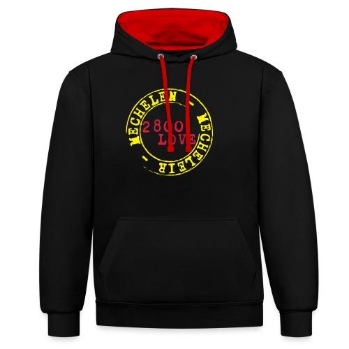 2800 Love Malinwa - Contrast hoodie