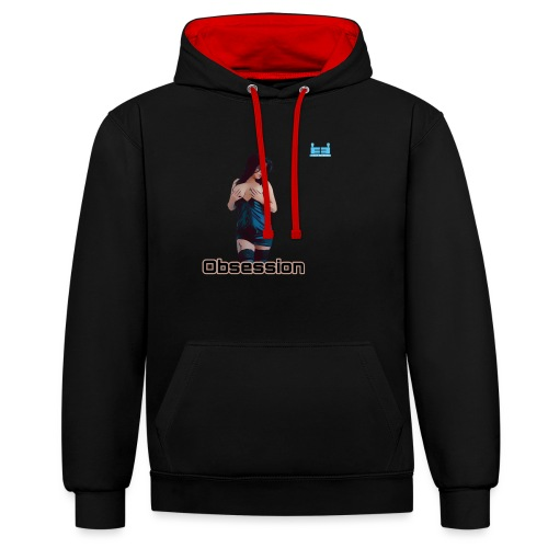 OBSESSION - Contrast Colour Hoodie