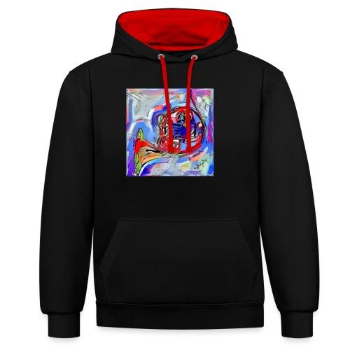 cornoarte1 - Contrast hoodie