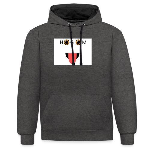 HetGameMisterie Logo - Contrast hoodie