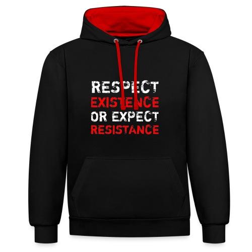 respect existence or expe - Kontrastihuppari