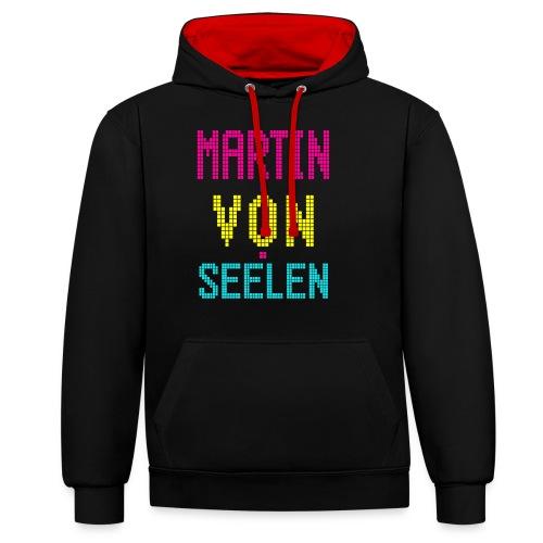 Martin von Seelen fan t-shirt - Kontrast-hættetrøje