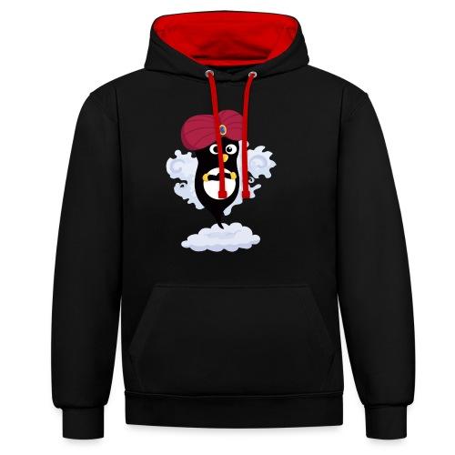Génie Pingouin - Sweat-shirt contraste