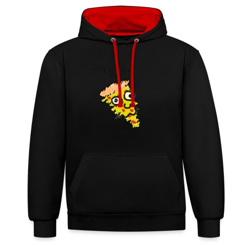 spaghetti trui - Contrast hoodie