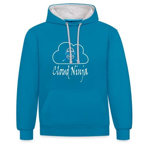 Cloud Ninja - Contrast Colour Hoodie