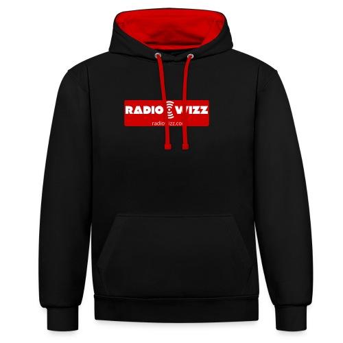 Radio Wizz - Contrast Colour Hoodie