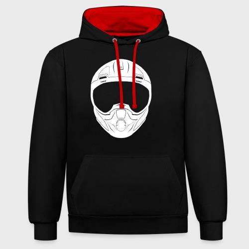 CSJG CBR Emblem - Contrast Colour Hoodie