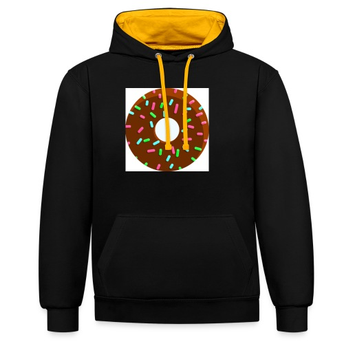 unnamed - Contrast Colour Hoodie