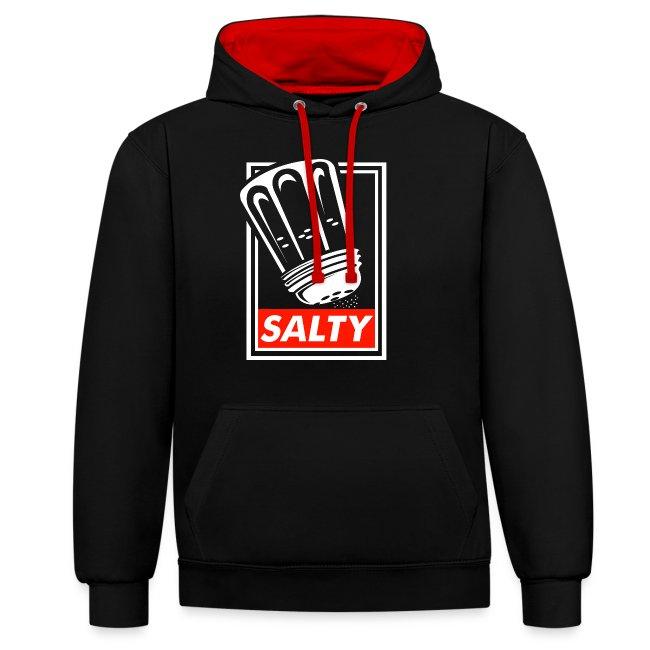 Salty white