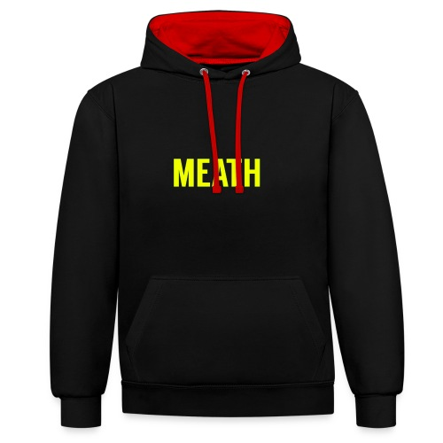 MEATH - Contrast Colour Hoodie
