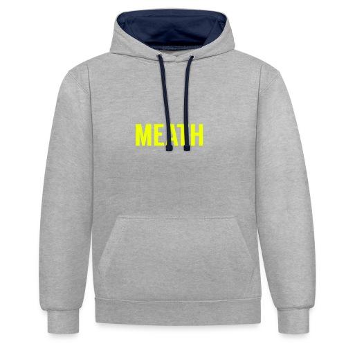 MEATH - Contrast Colour Hoodie