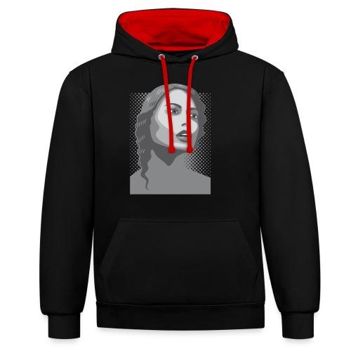Beauty (v2) - Contrast hoodie