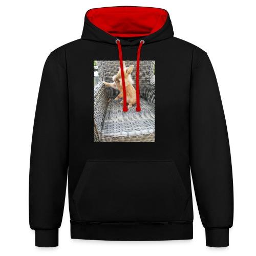 Ninou - Contrast hoodie