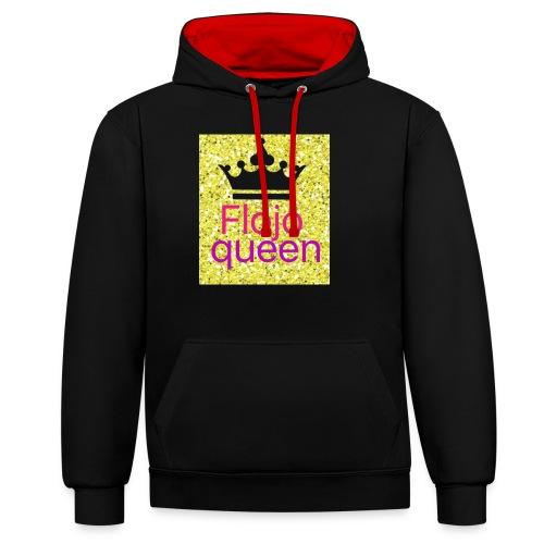 Queens - Contrast Colour Hoodie