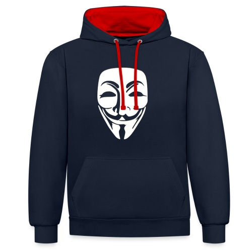 Anonymous Just Face - Kontrastihuppari