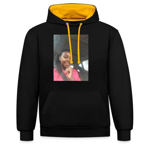 tee shirt personnalser par moi LeaFashonIndustri - Sweat-shirt contraste
