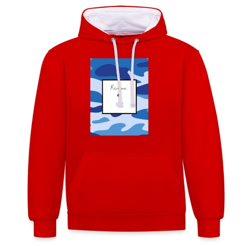 My channel - Contrast Colour Hoodie