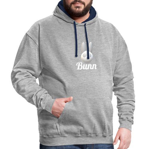 White Bunn - Contrast Colour Hoodie