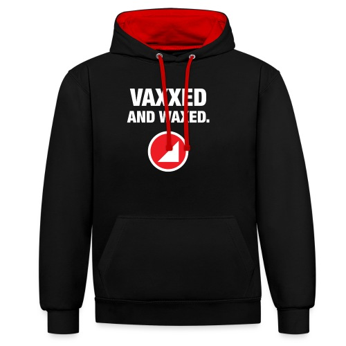VAXXED - Contrast Colour Hoodie
