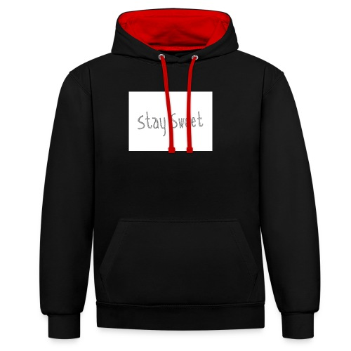 Cake sy LP Merch stay sweet - Kontrast-Hoodie