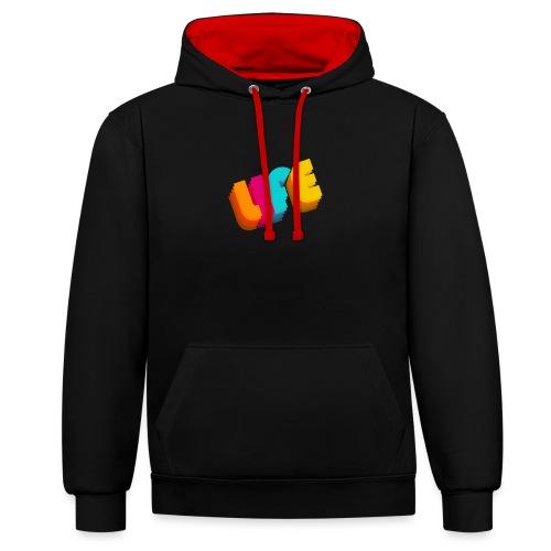 LIFE - Contrast hoodie