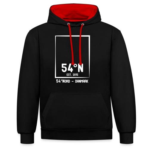 54°Nord square t-shirt edt.5 - Kontrast-hættetrøje