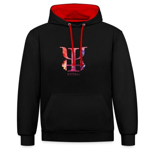 HIHi - Contrast Colour Hoodie