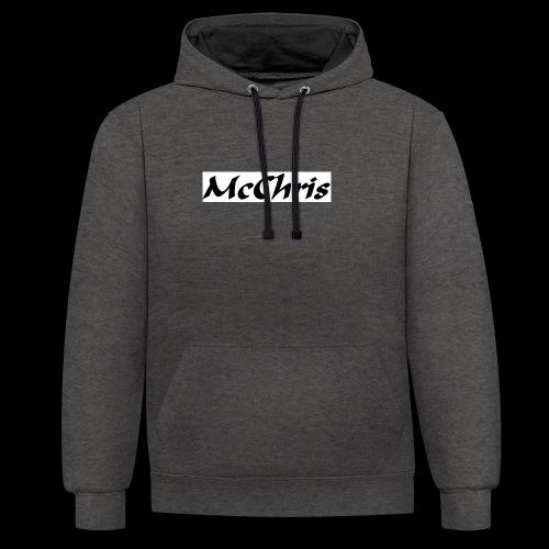 MCCHRIS - Kontrast-Hoodie