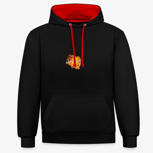 NeverLand Fire - Contrast hoodie