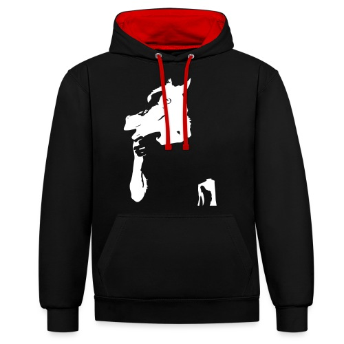 Funny horse - Sweat-shirt contraste