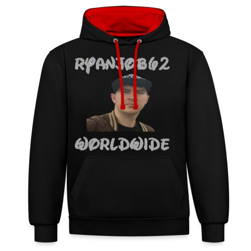 Ryanjob62 Worldwide - Contrast Colour Hoodie