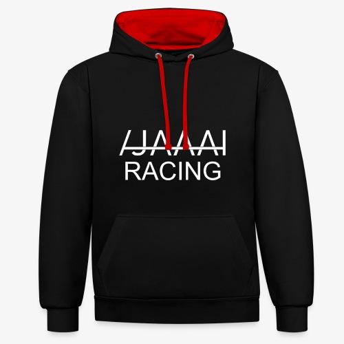 jahaa racing - Kontrast-hettegenser