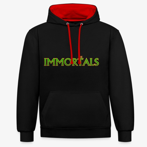 Immortals - Contrast Colour Hoodie