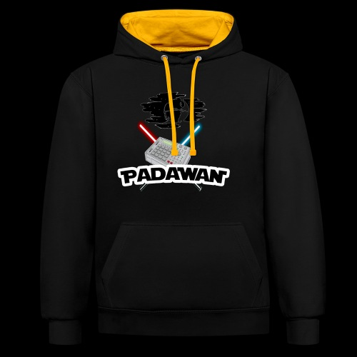 Padawan Blanc - Sweat-shirt contraste